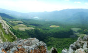 Виды с горы Чатыр-Даг