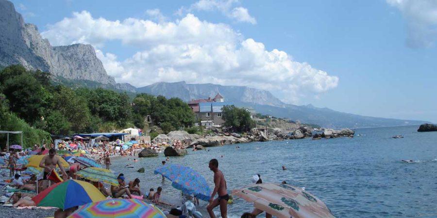 Галечные пляжи