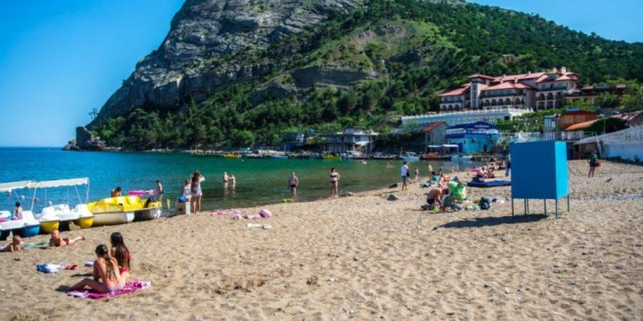 Городской пляж Нового Света