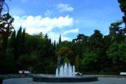 Памятник чехову в парке