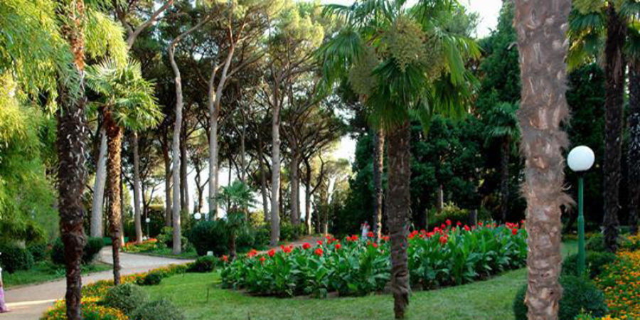Парк Алушты